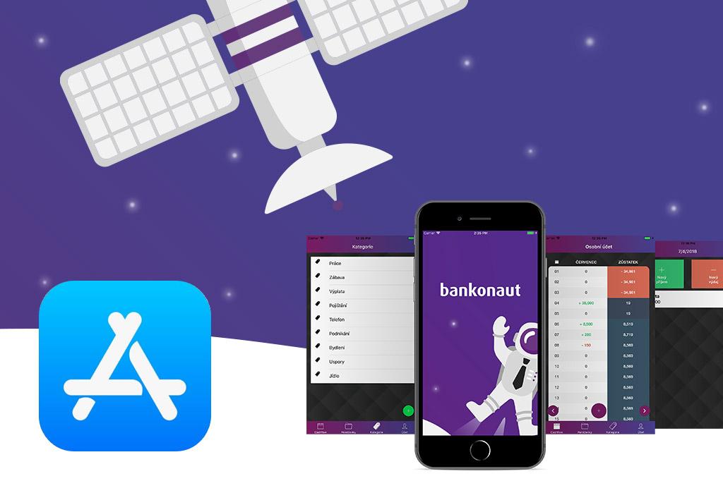 Náhledový obrázek článku Bankonaut představuje aplikaci pro iPhone